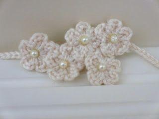 5f845c4bcba Flowers  n  Pearls Headband pattern by Jenna