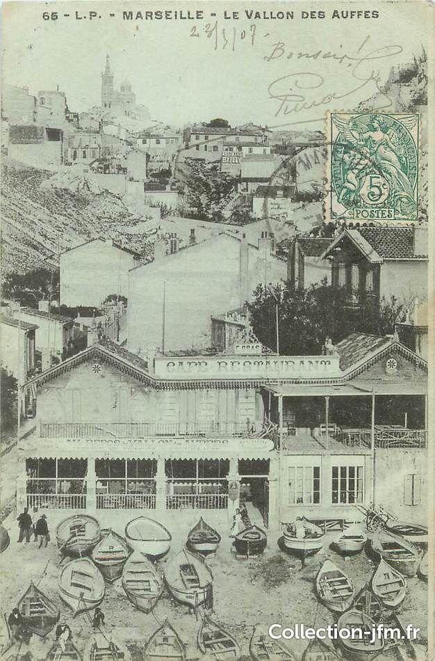 Marseille. Vallon des Auffes. 1907. en 2020 (avec images