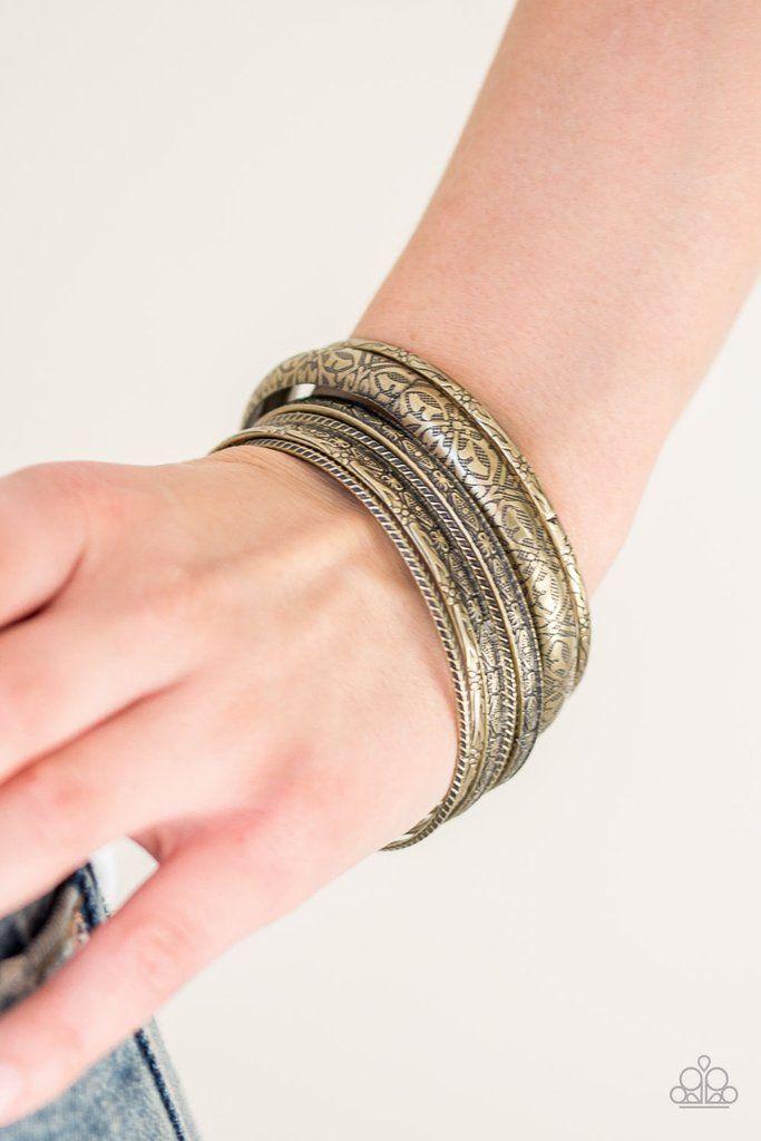 Hidden Groves Silver Bracelet