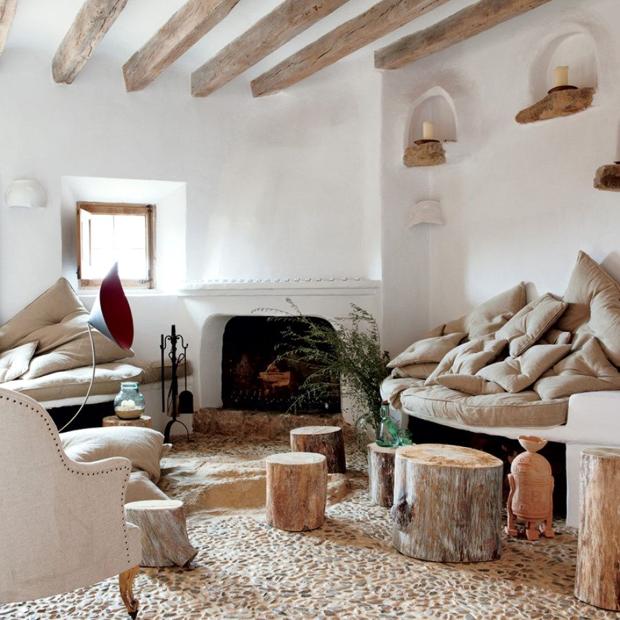 easy rustic style decor designs to complement a apartment