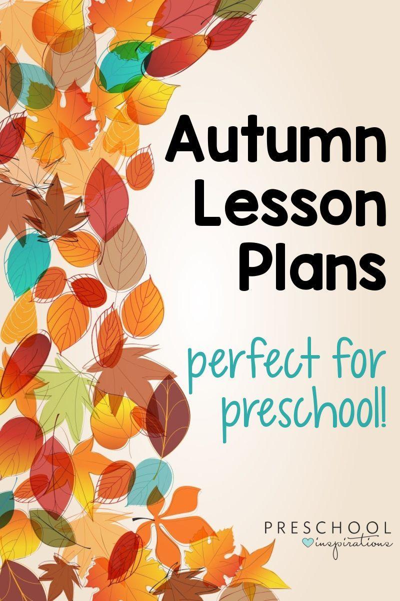 Fall Lesson Plans - Preschool Inspirations