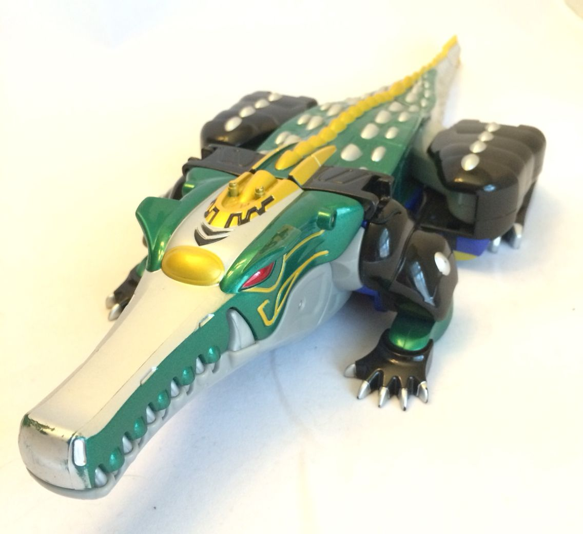 power Rangers Wild Force Crocodile Zord. | power rangers ...