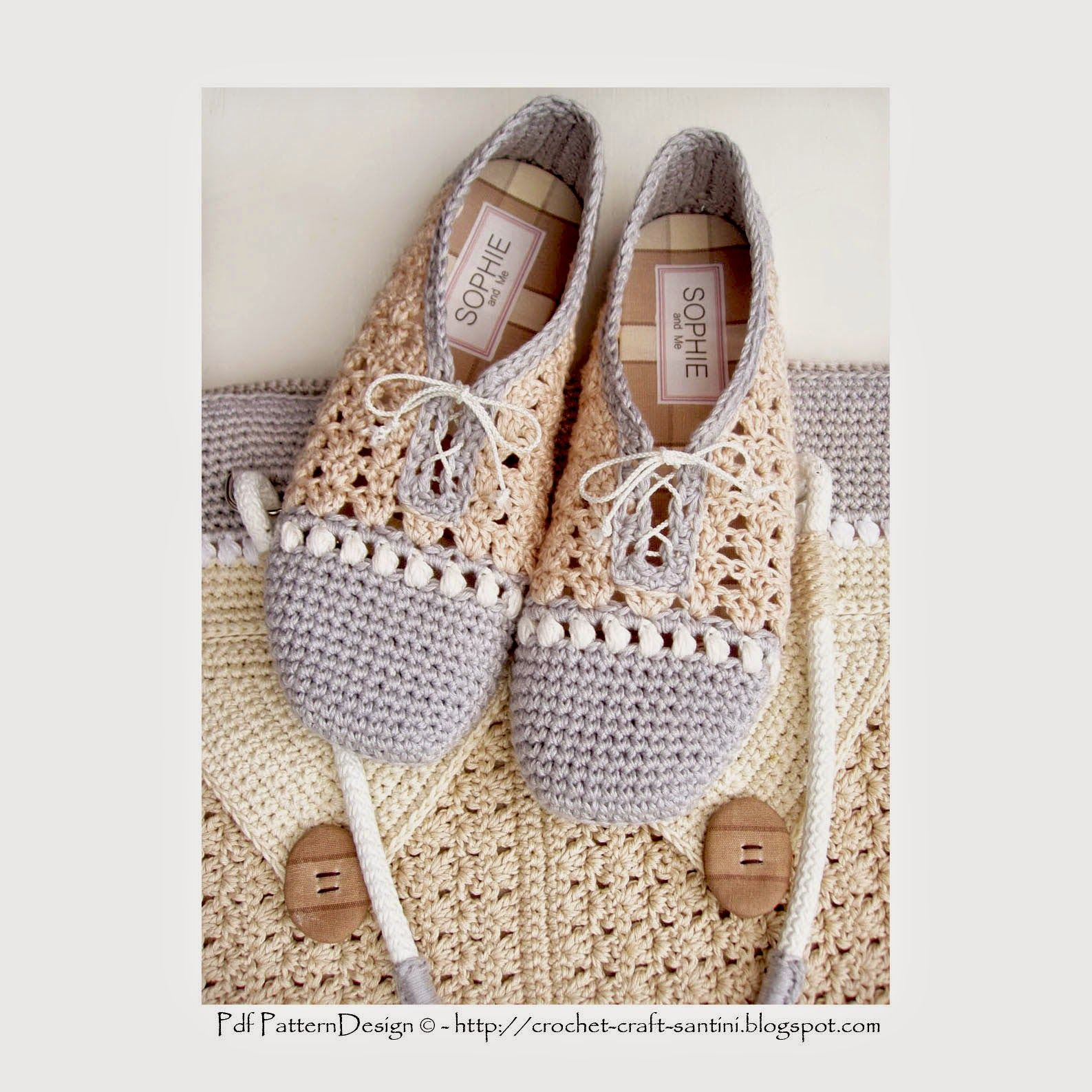 Sophie and me crochet slippershoes with matching shopping bag sophie and me crochet slippershoes with matching shopping bag new pattern bankloansurffo Image collections