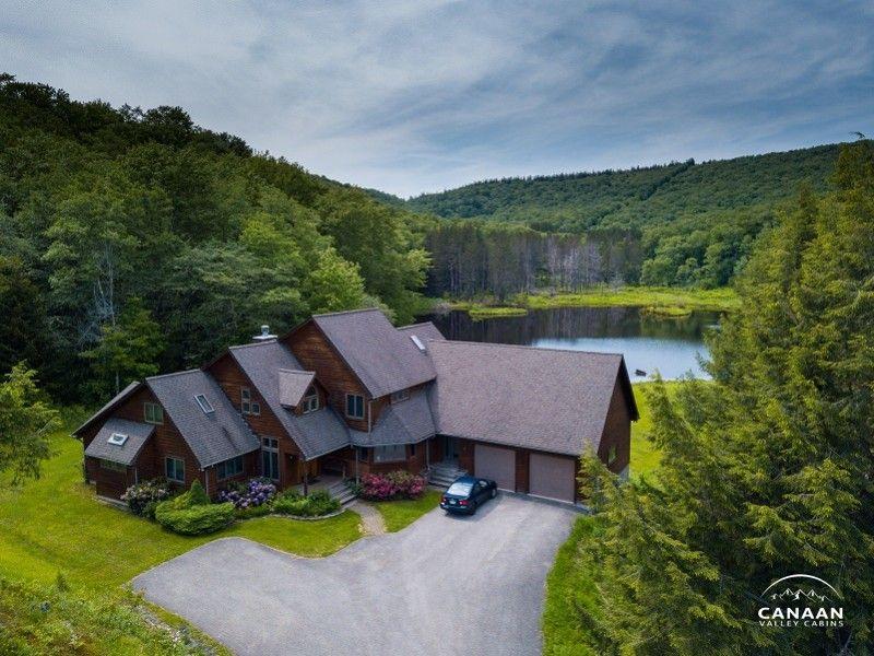 Caanan valley inn wv vacation home rentals lakefront