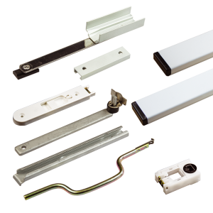 Tilt and slide balances enable you to produce a high performance timber vertical sliding window, with a tilt back facility for ease of cleaning, yet maintain the aesthetic appearance of a traditional sliding sash window.  Our tilt and slide balance accessories are supplied to suit Spiral, Ultralift balances and Torso in application.  http://www.reddiseals.com/product/tilt-slide-balance-accessories/