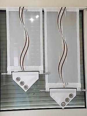details zu scheibengardine bistrogardinen gardinen. Black Bedroom Furniture Sets. Home Design Ideas