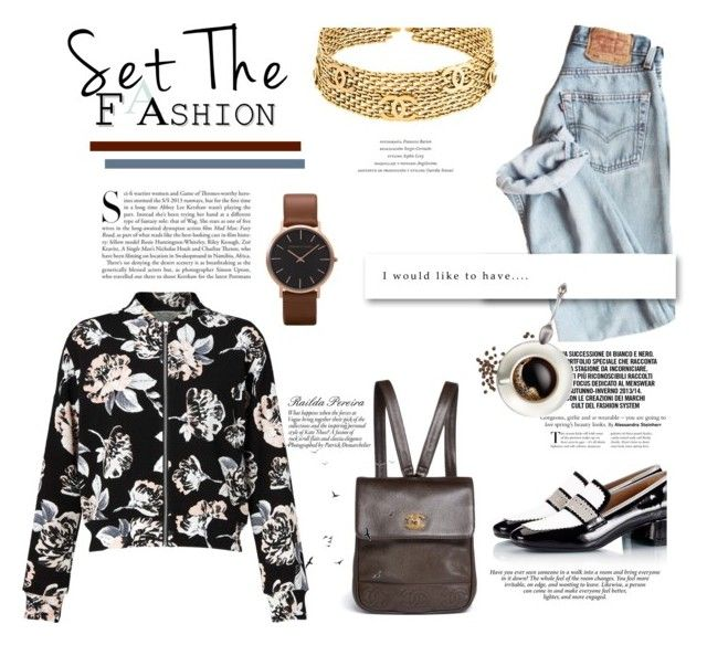 """""""Casual Look - Dia de feira"""" by railda-pereira ❤ liked on Polyvore featuring Miss Selfridge, Parlanti, Chanel, Kershaw and Timorous Beasties"""