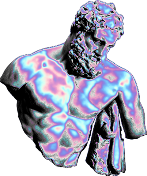 The Coolest Stickers Purple Aesthetic Vaporwave Aesthetic Colors