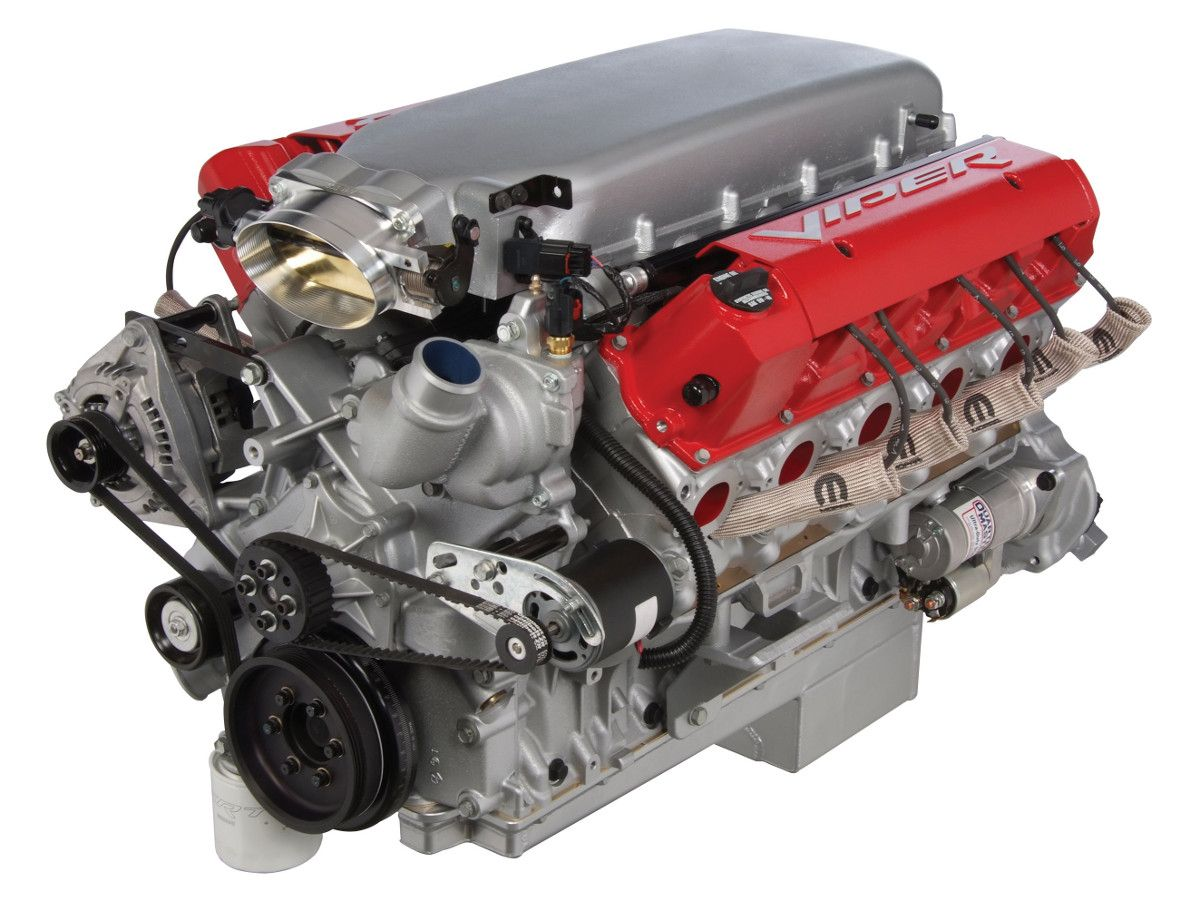 Competition Series Viper V10 Crate Engine Crate Motors Crate Engines Mopar