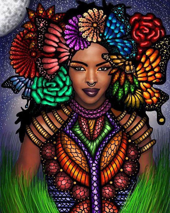 "superselected "" Art. Gelila Metiti Mesfin Creates"