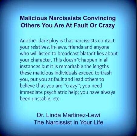 Narcissists and lies