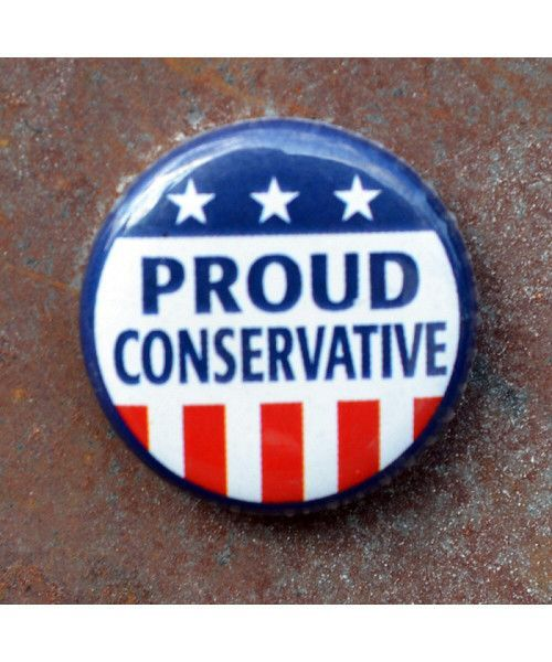 Proud Conservative MiniButton