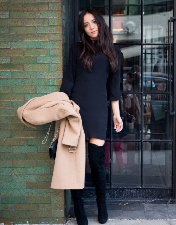 The Thigh High Boots Outfit: 35 Ways To Wear Thigh-High Boots ...