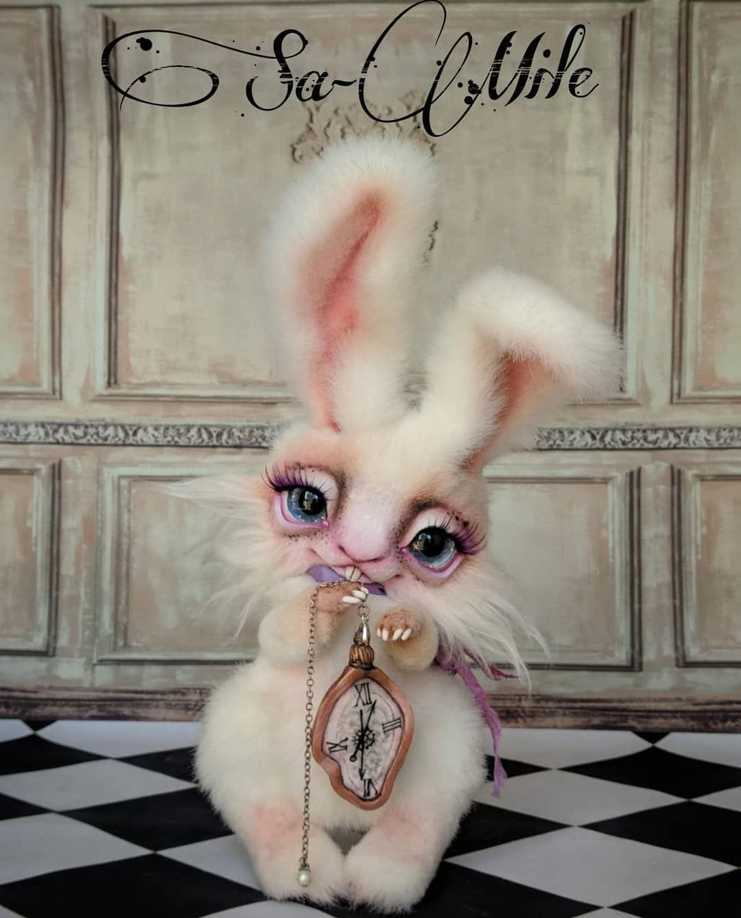 Are You Ready To Chase A White Rabbit This Time I Created