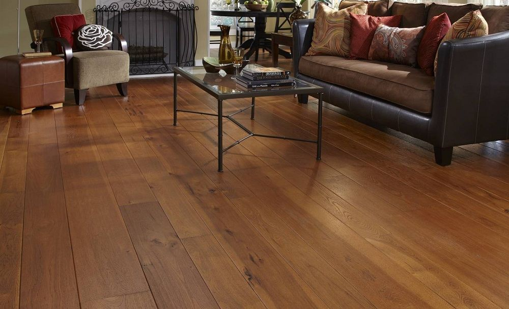 Image of wide plank laminate flooring ideas basement for Wide plank laminate flooring