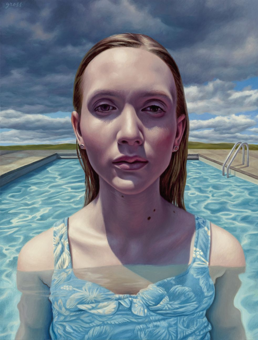 Alex Gross - Approaching Storm #alexgross #jonathanlevinegallery