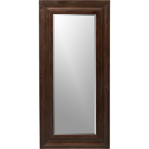 Beverly small floor mirror in sale wall art mirrors crate and barrel