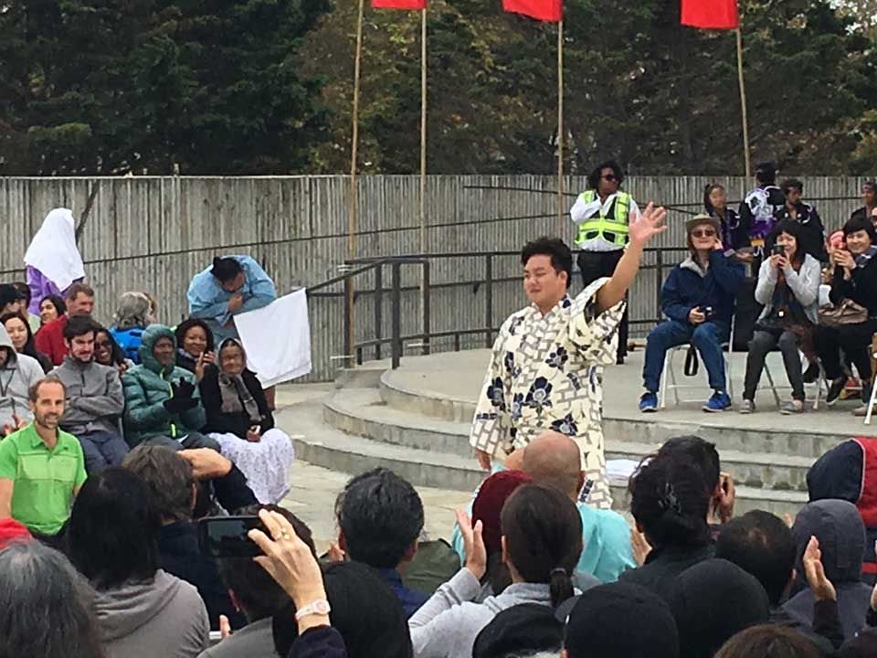 Scenes From Japantown's 2016 Sumo Champions Exhibition | Hoodline