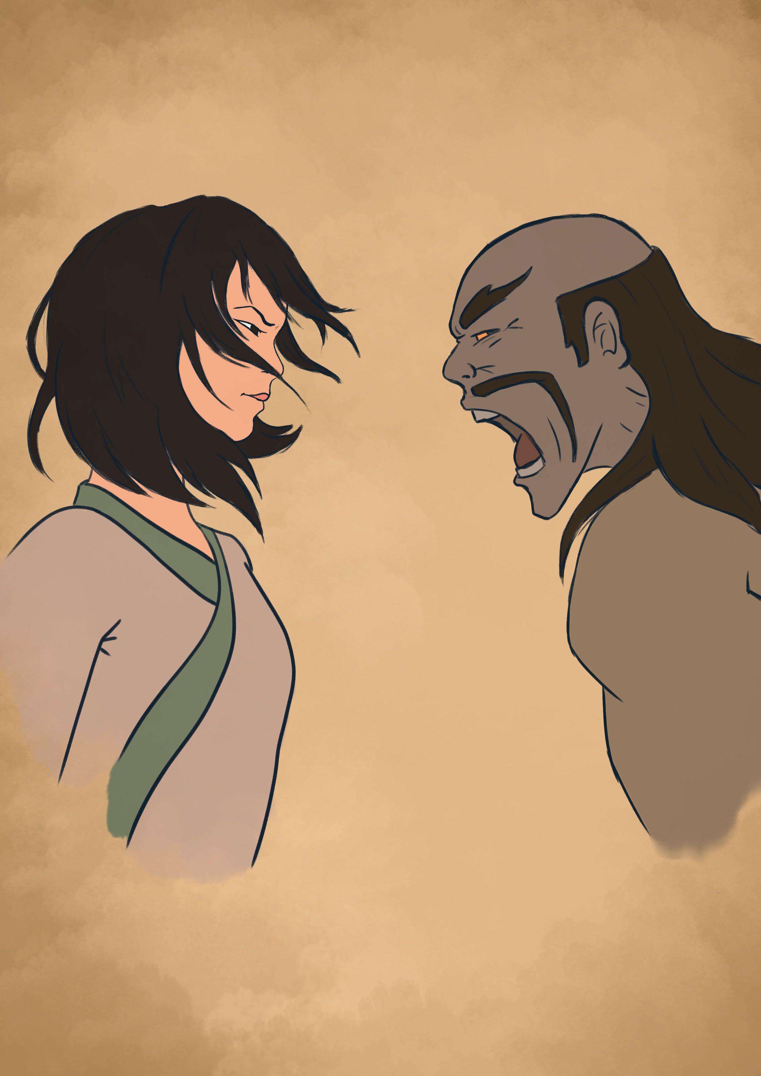 Mulan vs Shan Yu  Mulan, Disney, Disney characters