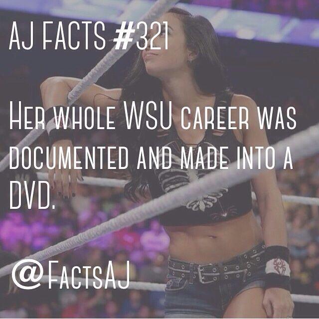AJ lee facts