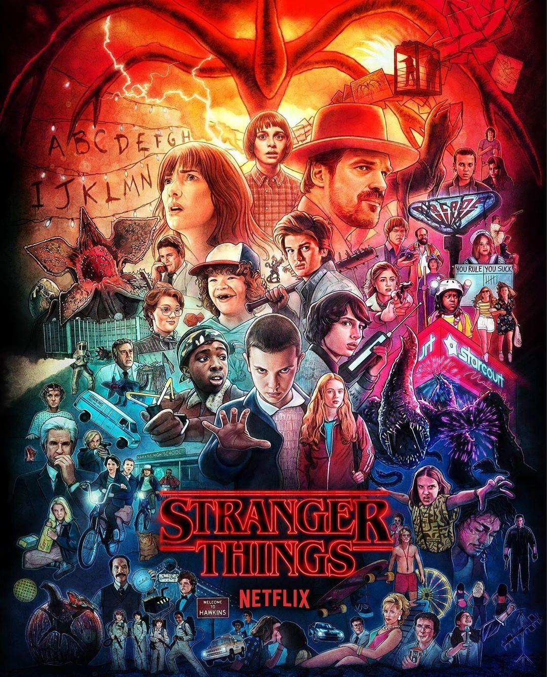 Stranger Things Hintergrund Hintergrund Iphone Netflix Stranger Things Stranger Things