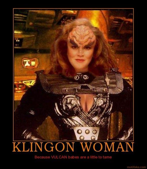 Klingon nude woman