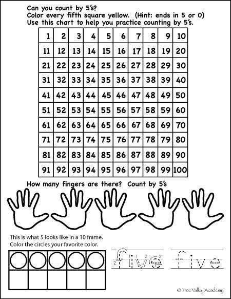 Number Bonds to 5 Free Math Worksheets | Free math, Writing numbers ...