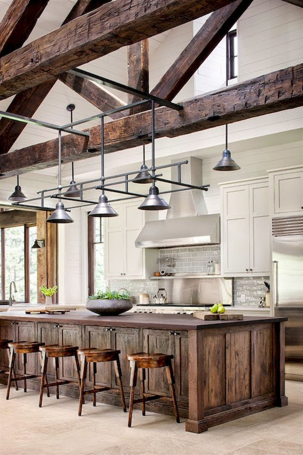 60+ STUNNING RUSTIC KITCHEN DECORATING IDEAS AND REMODEL