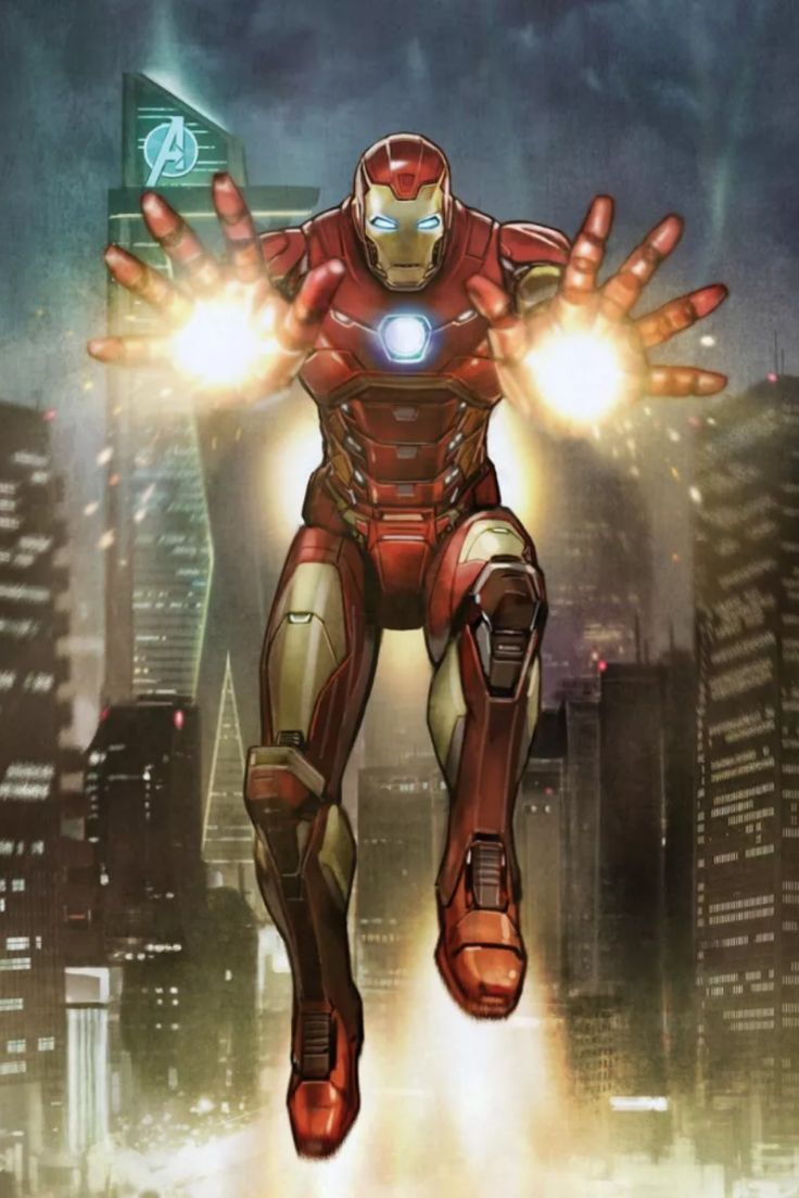 Iron man Flight poster by Marvel Official Brand Shop thumbnail