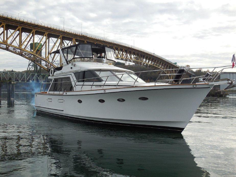 1987 Ocean Alexander Sedan Power Boat For Sale - www.yachtworld.com