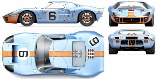 Ford Gt 40 Race Car Le Mans 1969 Ford Gt Ford Gt 2016 Ford Gt40