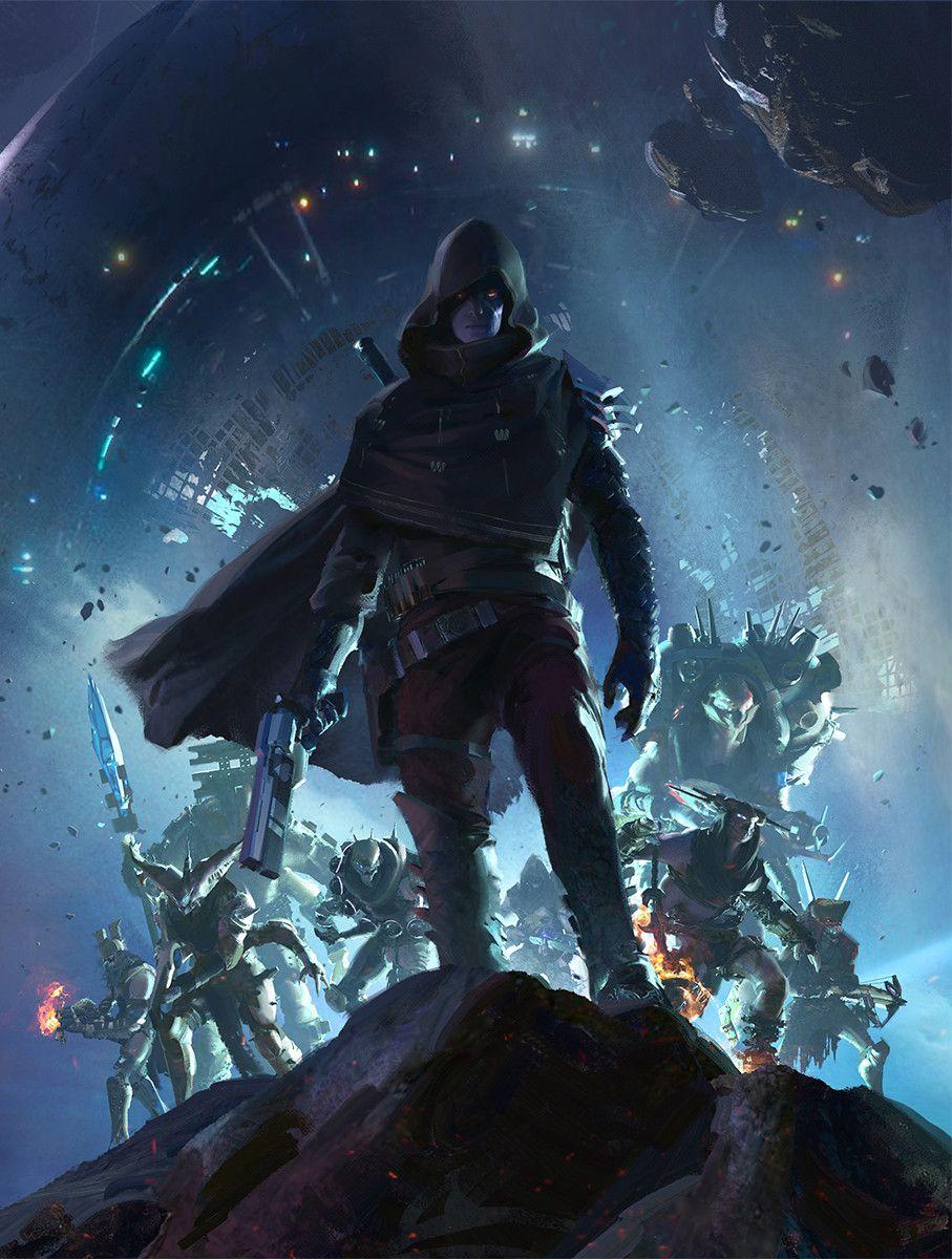 Artstation Game Informer Cover Destiny 2 Forsaken Sung