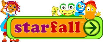 Starfall helps teach children to read with phonics. It is