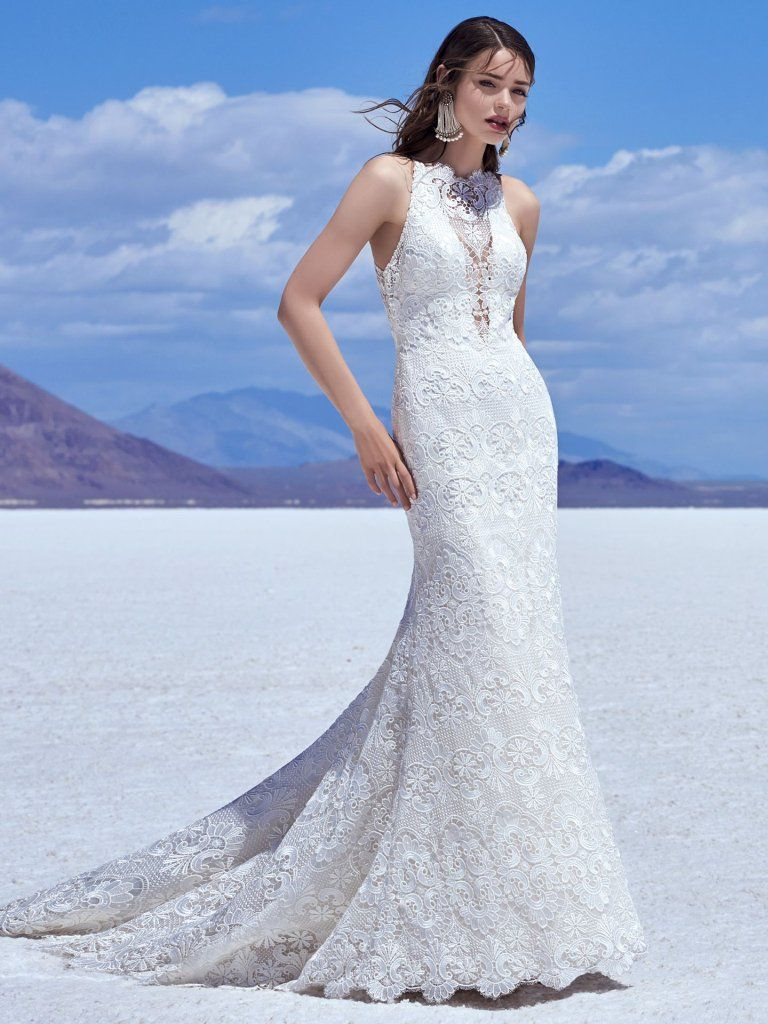 Maggie Sottero Wedding Dresses | Zayn, Wedding dress and Lace ...