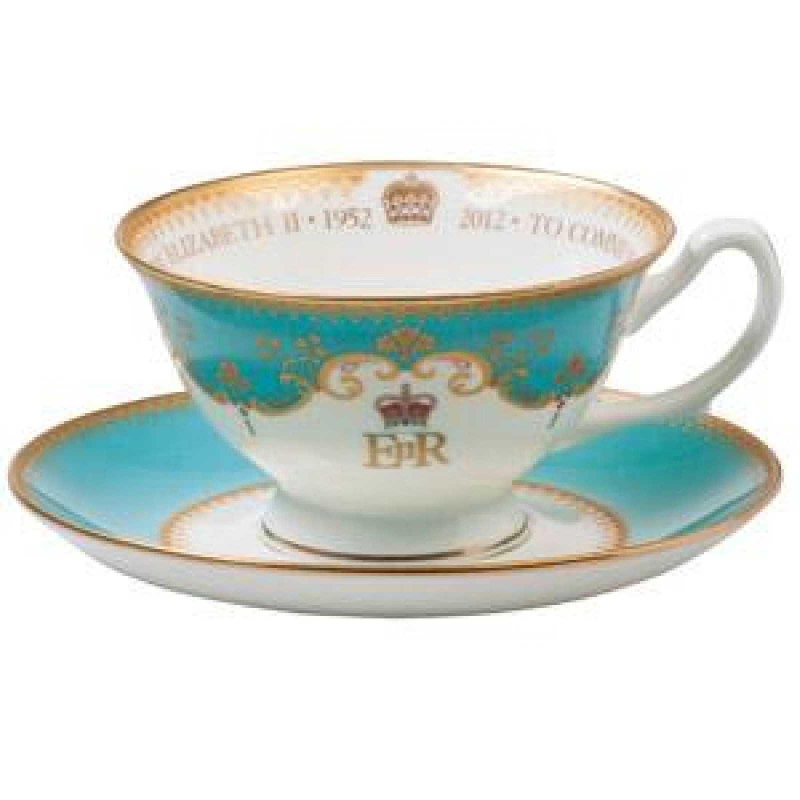 diamond jubilee fine bone china teacup and saucer gift boxed scottish kilts online
