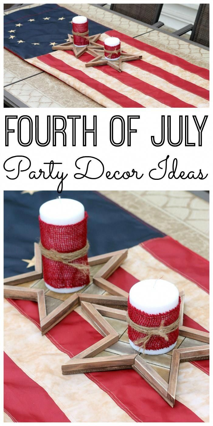 Fourth of July Party Decor images