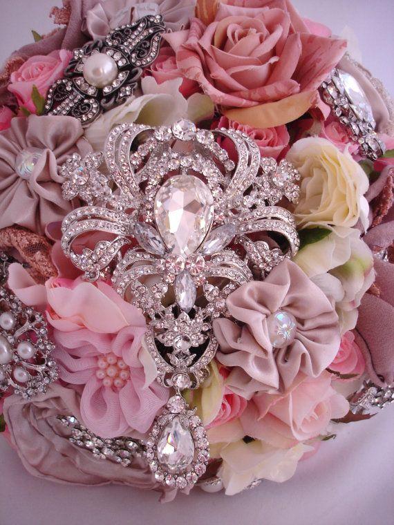 Etsy Transaction - The Lillybuds Cottage Glamour Wedding Bouquet