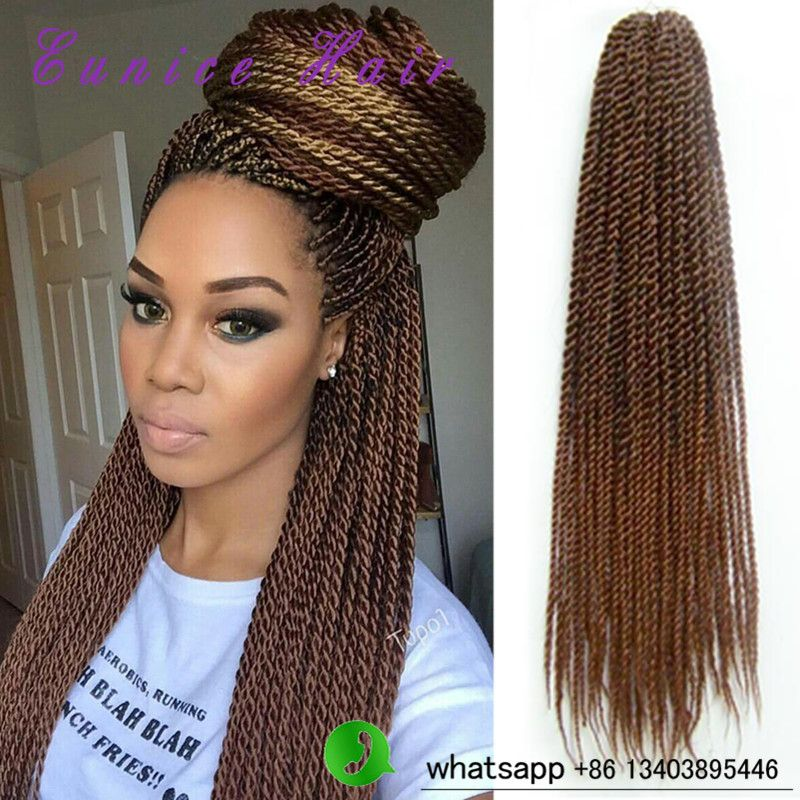 Crochet Braids Ombre 22 Senegalese Twist Hair Kanekalon
