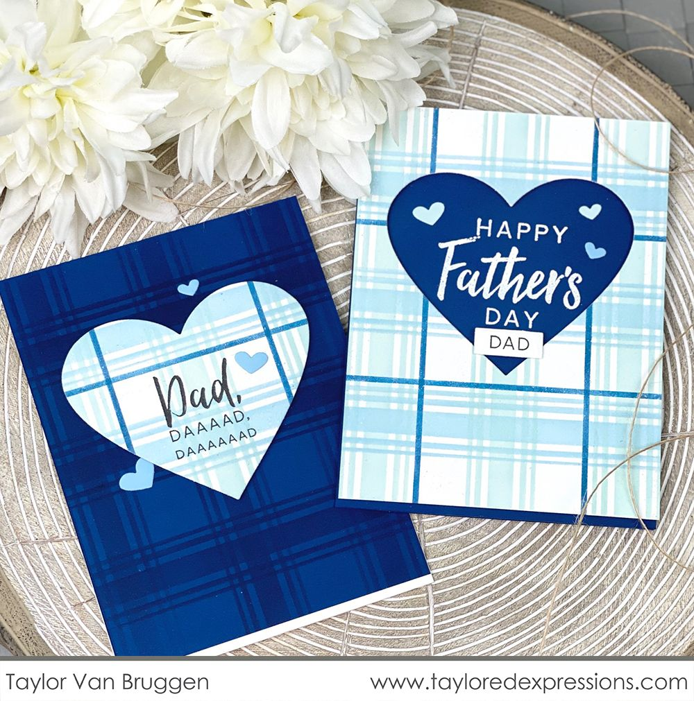 FATHERS DAY CARD FROM THE DOG PAW PRINTS HEART