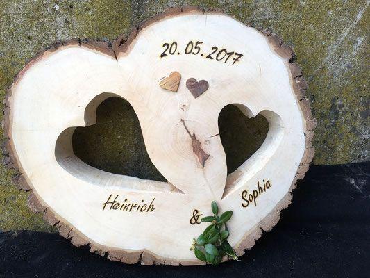 Hochzeitsgeschenke Holz Bilderrahmen Mit Namen I Geschenke Zur