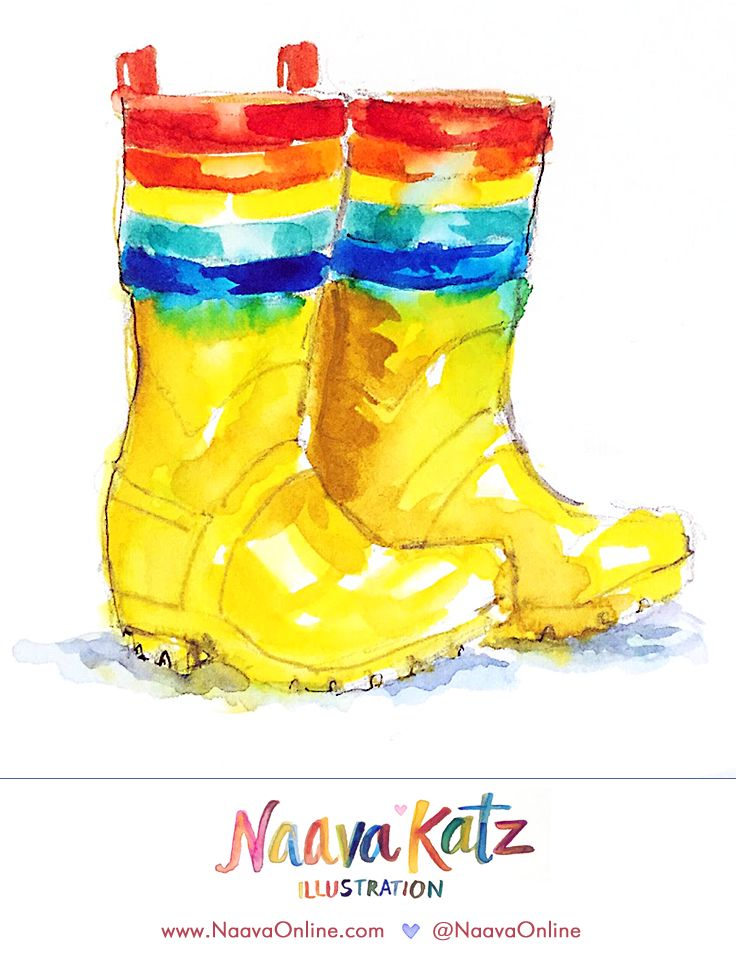 Little Bird by Jools Oliver  |  Kid's Fashion Illustration  |  Mothercare UK  |  Rainbow Wellies | @naavaonline