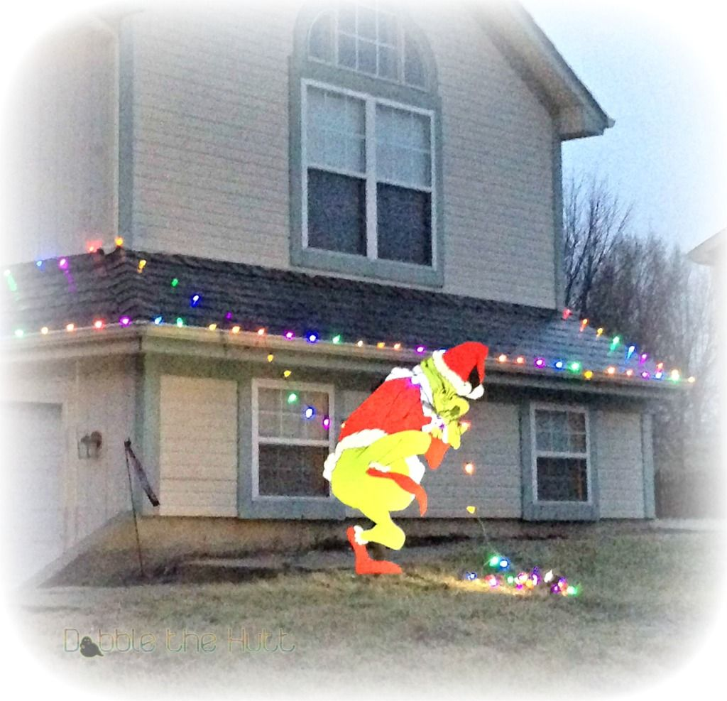 Grinch stealing lights christmas decorations - Directions How To Make The Grinch Cut Out Grinch Christmas Lightschristmas Yard Decorationswhoville