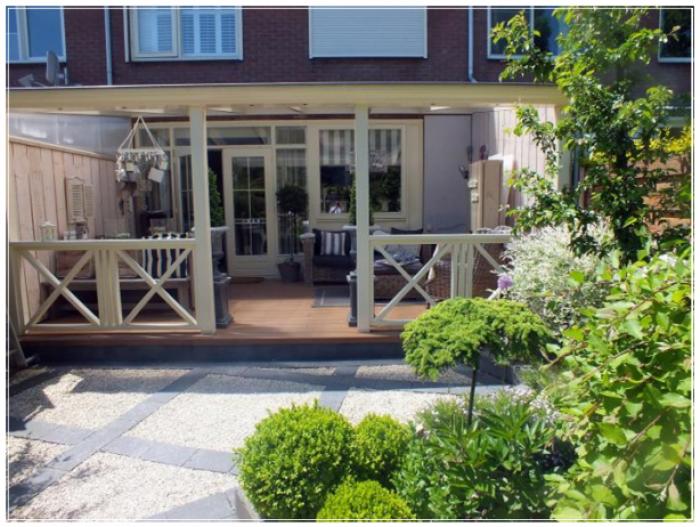 Veranda bij rijtjeshuis tuin veranda tuin en tuin veranda for Huis en tuin nuenen