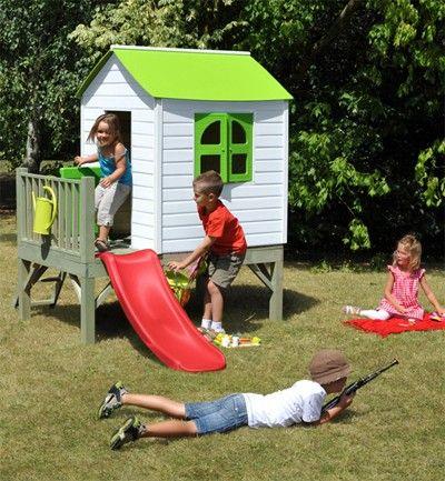 Casita de madera para el jardín | casa muñecas | Pinterest | Casa de ...