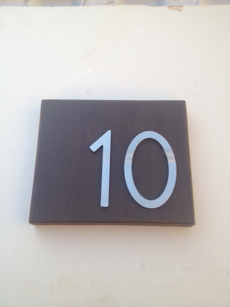 Self Adhesive 3 Stainless Steel Door Numbers Letters Door Numbers Modern Door Stainless Steel Doors