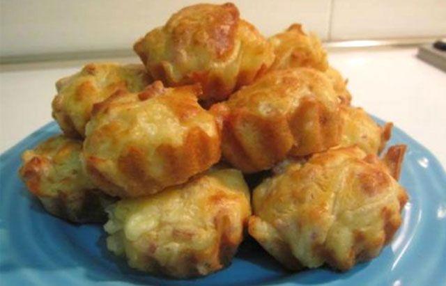 Muffins Légers au Jambon et Oignons WW - Plat et Recette