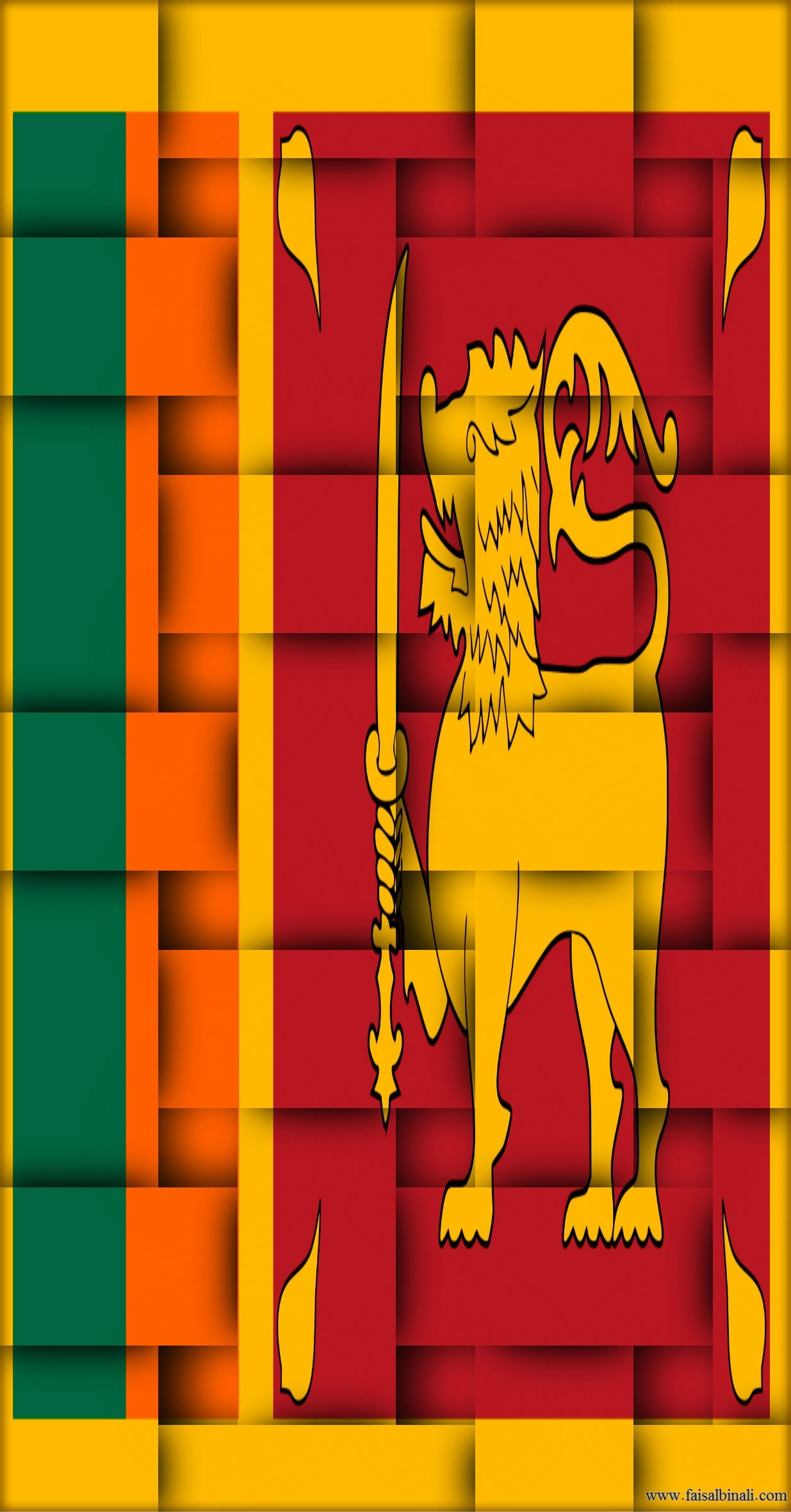 Sri Lanka Flag Hd Wallpapers For Smartphones And Tablets