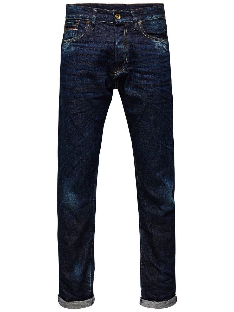 ERIK ROYAL RDD 042 ANTI-FIT JEANS, Medium Blue Denim, large #jackjones