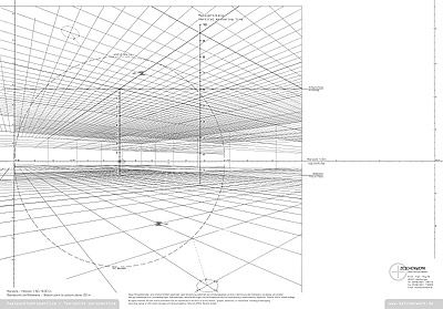 Two Point Perspective Grid Paper