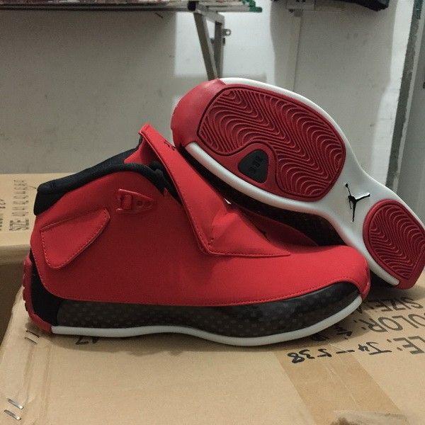 brand new 4d8f2 67b52 Air Jordan 18 Toro Gym Red Black For Sale